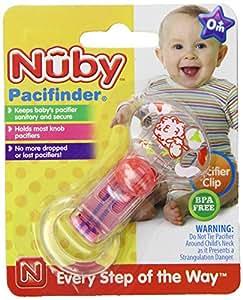 Luv N Care/NUBY Nuby Brites BPA Free Pacifier Clip, Colors May Vary