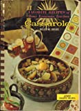 img - for Favorite Recipes of Home Economics Teachers. Casseroles Including Breads. book / textbook / text book