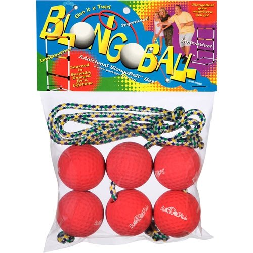 Blongo Family Fun BB-2 S-R BlongoBall Soft Accessory Pack (red)