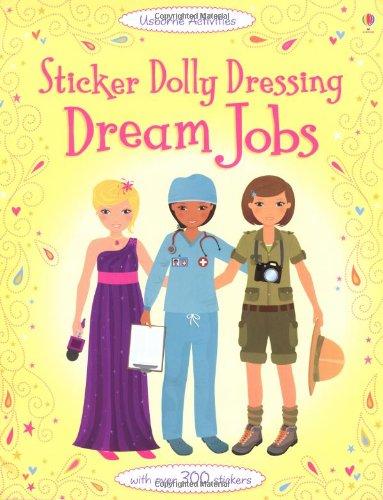 Sticker Dolly Dressing Dream