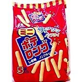 森永製菓 ミニポテロング<しお味> 90g(18g×5小袋)×10袋
