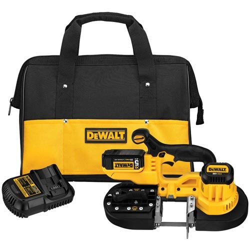 Buy Discount DEWALT DCS371P1 20V MAX Lithium Ion Band Saw Kit