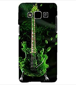ColourCraft Amazing Guitar Design Back Case Cover for SAMSUNG GALAXY A3