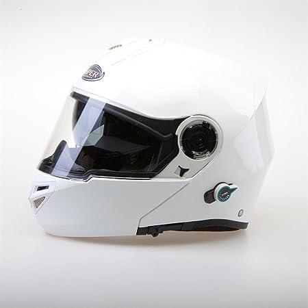 Viper RSV151 Bluetooth Flip Up casque de moto blanc