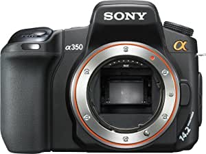 Sony Alpha DSLRA350 14.2MP Digital SLR Camera with Super SteadyShot Image Stabilization (Body Only)