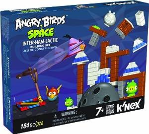 Angry Birds - Set construcción Inter-Ham-Lactic, 184 piezas (Fábrica de Juguetes 41006)