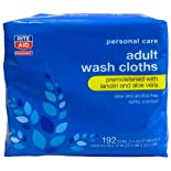 Rite Aid Adult Wash Cloths 192ct