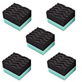 Chemical Guys ACC3005 Durafoam Contoured Large Tire Dressing Applicator Pad (Pack of 5)