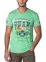 CANADIAN PEAK Camiseta Manga Corta Jazfic (Verde)