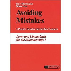 eBook Cover für  Avoiding Mistakes A Practice Book for Intermediate Learners Lern und 220 bungsbuch f xFC r die Sekundarstufe I
