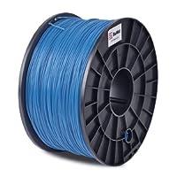 BuMat ABSBU 1.75mm, 1kg, 2.2lb Blue Filament Printing Material Supply Spool for 3D Printer from Sans Digital