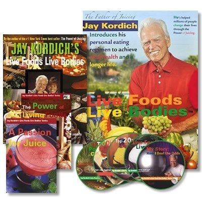 The Live Foods Live Bodies Program (242 page Book, 2 DVDs, 5 CDs Multimedia package) (242 page Book, 2 DVDs, 5 CDs Multimedia package) (Juicing Package compare prices)