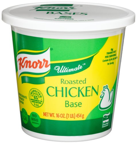 Knorr Ultimate Roasted Chicken Soup Base, 16-Ounce Tubs (Pack of 3) (Knorr Chicken Base compare prices)