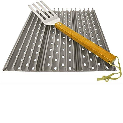 3x Grillgrate 45×13,34 cm (17,7 Zoll x 5,25 Zoll) Set + 1 free GrateTool jetzt kaufen