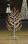 Lightshare™ NEW 3Ft 112LED White Star Light Tree,Warm White Light for Home Garden…