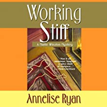 Working Stiff: Mattie Winston Mysteries, Book 1 (       UNABRIDGED) by Annelise Ryan Narrated by Jorjeana Marie