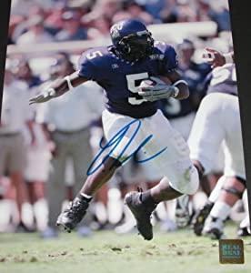 Ladainian Tomlinson Autographed Hand Signed 8x10 TCU College Action Photo - San Diego... by Real Deal Memorabilia