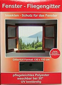 Fenster Fliegengitter / Moskitonetz mit Klettband