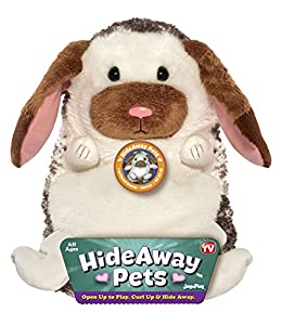 "Jay At Play 15"" Hideaway Pets (Lop Eared Bunny) from Jay At Play"