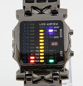 Binary wrist watch amazon