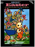 Eileen Miller Happy Easter Stained Glass Coloring Book (Holiday Stained Glass Coloring Book)