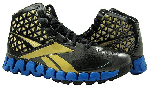 917cf634198 Cheap Price Now! Reebok ZigTech Mens Zig Slash Black Gold Blue Basketball  Shoes US 10.5 NIB !!!