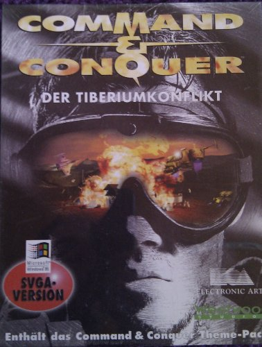 Command & Conquer - Der Tiberiumkonflikt (SVGA-Version) [Computerspiel].