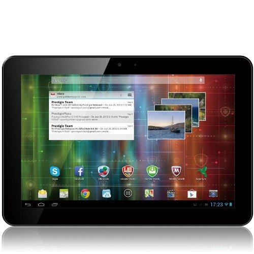 Prestigio MultiPad 4 Ultimate 10.1 3G 25,7 cm (10,1 Zoll) Tablet-PC (Quad Core ARM Cortex A9, 1,6GHz, 1GB RAM, 16GB HDD, Android 4.2) schwarz