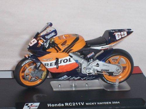 Honda Rc211v Rc 211v Nick Hayden 2004 Motogp 1/24 Altaya By ixo Modellmotorrad Modell Motorrad SondeRangebot