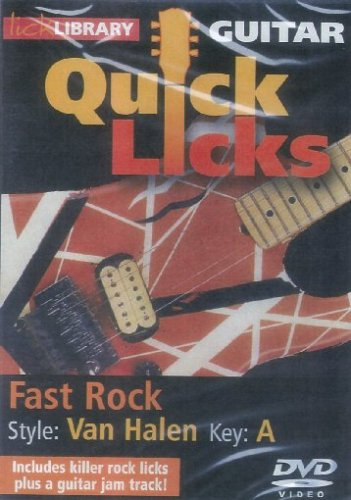 Lick Library: Quick Licks - Van Halen Fast Rock (DVD) [2009]