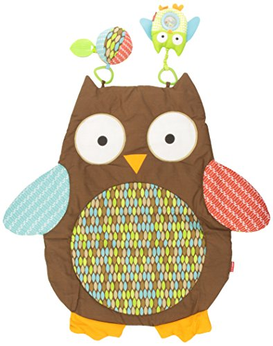 Skip Hop Tummy Time Mat, Hug and Hide Owl