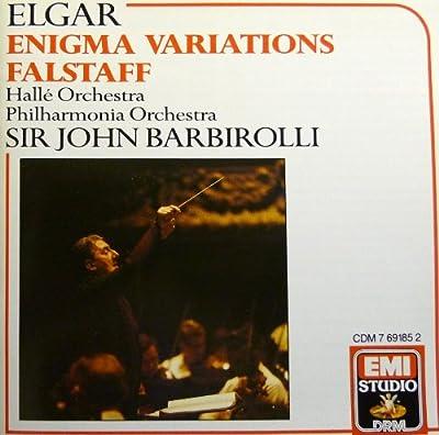 Elgar: Variations of Enigma Op. 36 & Falstaff in C minor Op. 68