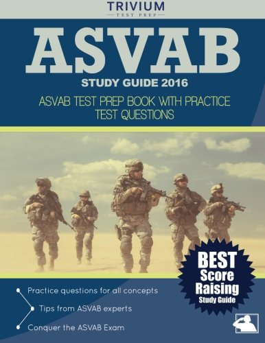 asvab test study guide book