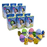 Easter Eggs - Hide Em and Hatch Em Eggs (Single Unit) - Watch Them Hatch Like Magic One of Six Different Pets!
