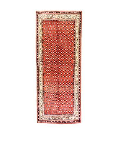 L'Eden del Tappeto Alfombra M.Mir Rojo / Beige 127 x 313 cm