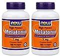 Now Foods Melatonin 180 vcaps(Pack of 2)