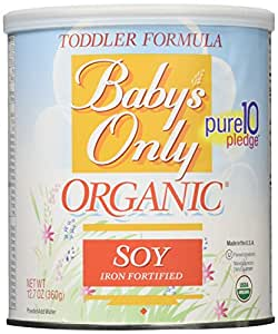 Babys Only Soy Organic Toddler Formula 12 7 Ounce