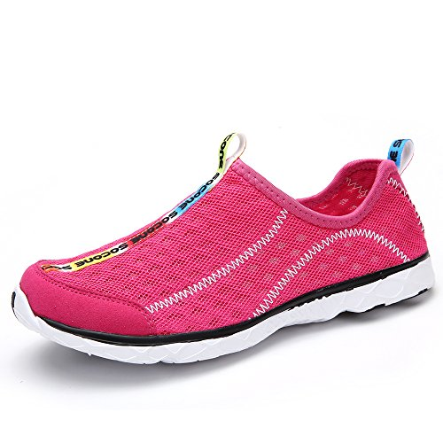 5a883703c70c Aleader Women s Mesh Slip On Water Shoes