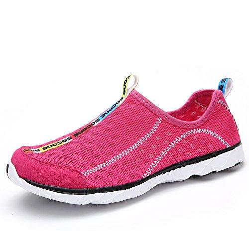 d377904a1 Aleader Women s Mesh Slip On Water Shoes