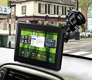 RAM-B-166-TAB2U: RAM Twist Lock Suction Cup Mount & Universal Tab-Tite for Tablets with THIN Cases, Sleeves, Skins (Samsung Galaxy Tab, Dell Streak, BlackBerry PlayBook & Barnes & Noble BOOKcolor)