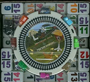Mexican Train Dominoes No Dots Double 15 Numerals