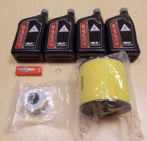 New 2009-2013 Honda Big Red Muv 700 Utv Complete Oe Oil Service Tune-Up Kit front-512418