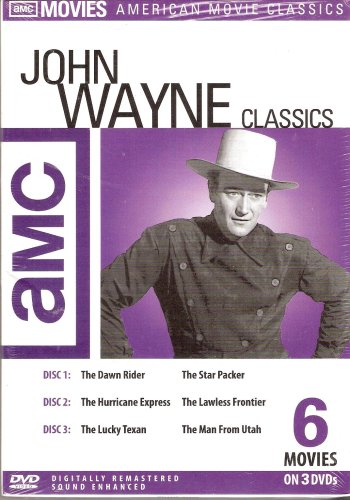 Cover art for  John Wayne Classics (Box Set)