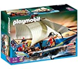 PLAYMOBIL 5140 - Redcoat Battle Ship + 5139 - Soldiers Fort With Dungeon