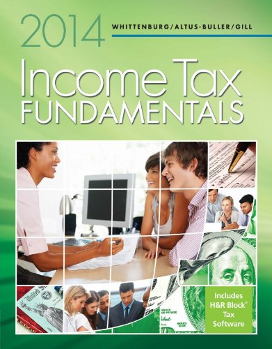 Income Tax Fundamentals 2014 (With H&R Block At Home Cd-Rom)