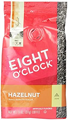 Eight O'Clock Hazelnut Ground Coffee, 11-Ounce Bags (Pack of 6) from Eight O Clock Coffee Company