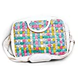 Happily Unmarried Laptop Inchitape Bag (White)