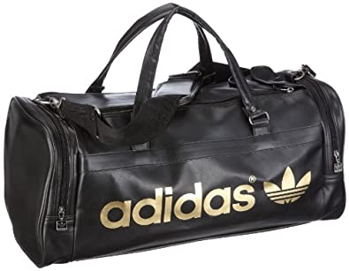 adidas originals ac teambag sac de sport voyage noir cuir chaussures et sacs. Black Bedroom Furniture Sets. Home Design Ideas