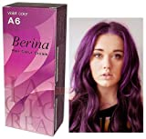 Berina Hair Professional Permanent Hair Dye Color Cream (A6) Violet Color