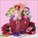 Egg-streme Glamour Girl: Easter Gift Basket for Girls <BR>Ages 6 to 9 Years Old